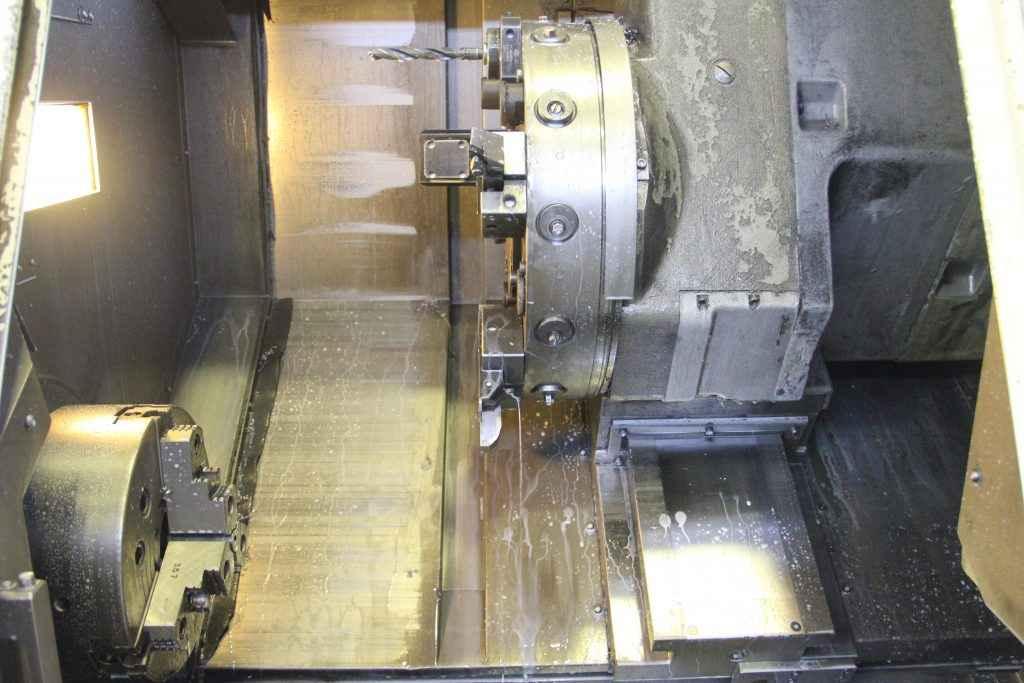 نمونه دستگاه تراش CNC بعد از اتمام کار در شرکت صنعتی پارس جک